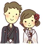 和装結婚式イメージイラスト